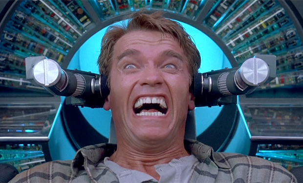 Schwarzenegger in Total Recall