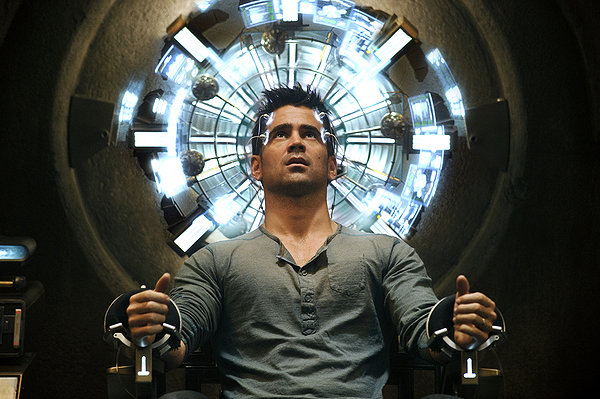 Collin Farrel in Total Recall