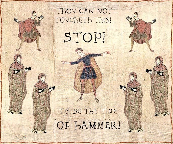 tis be the time of hammer