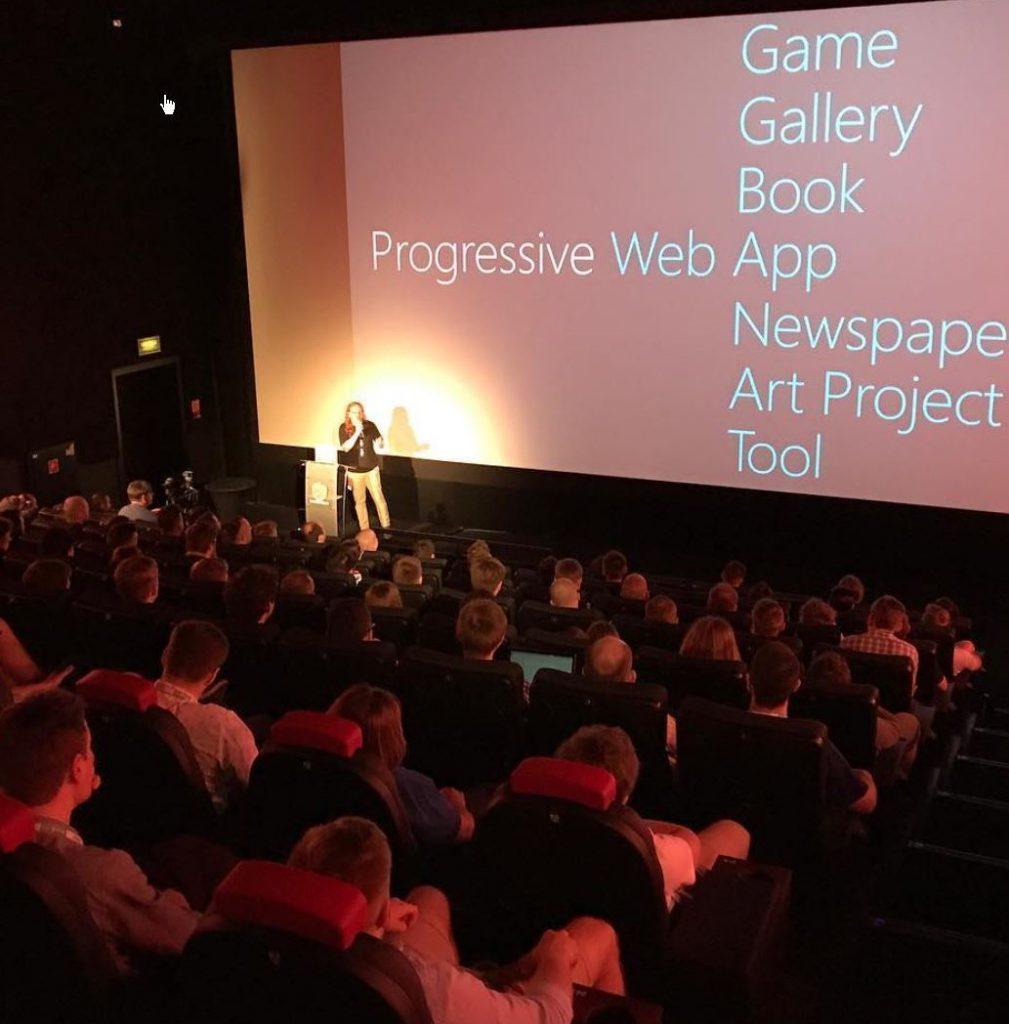 PWA presentation at JSPoland