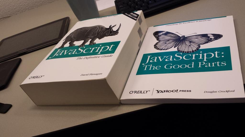 The JavaScript definitive Guide book in comparison with JavaScript-The good parts