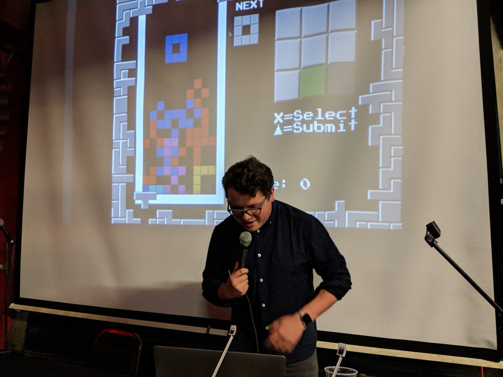 Competitive Tetris