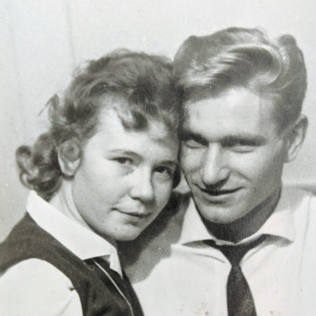 My parents, a long time ago