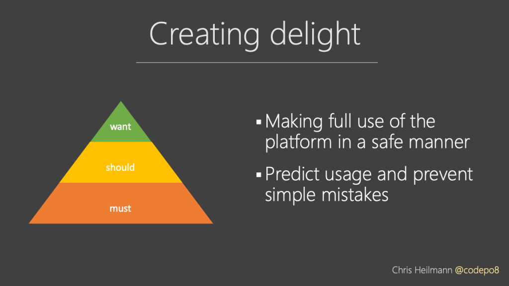 adding delight - features we want to have