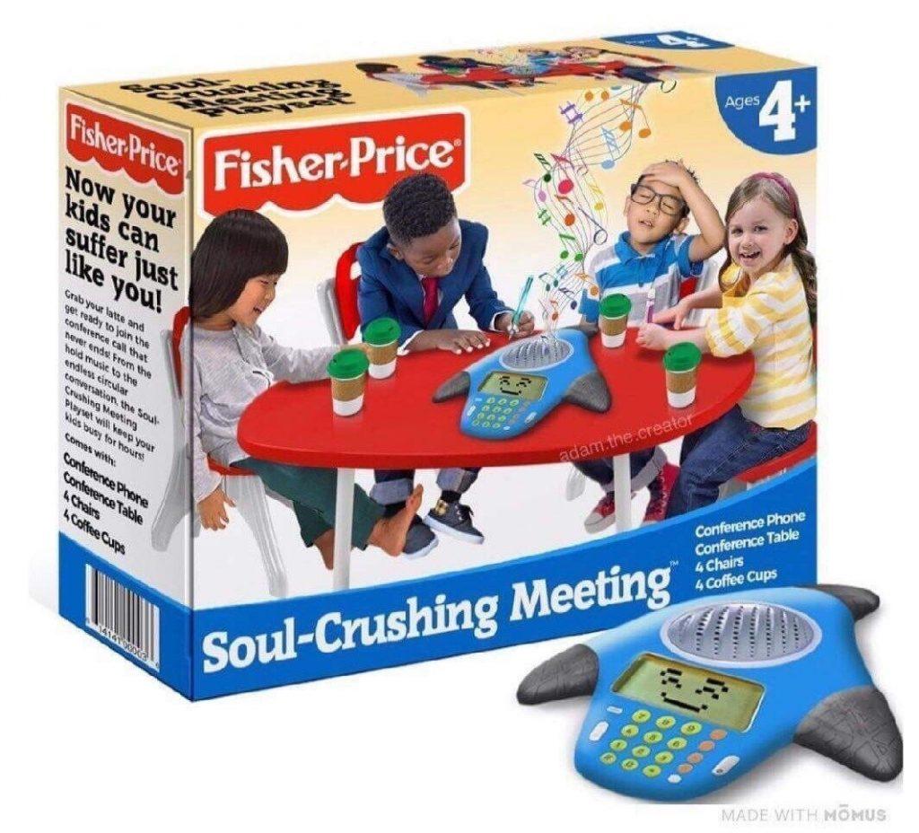 Fisherprice spoof meeting phone