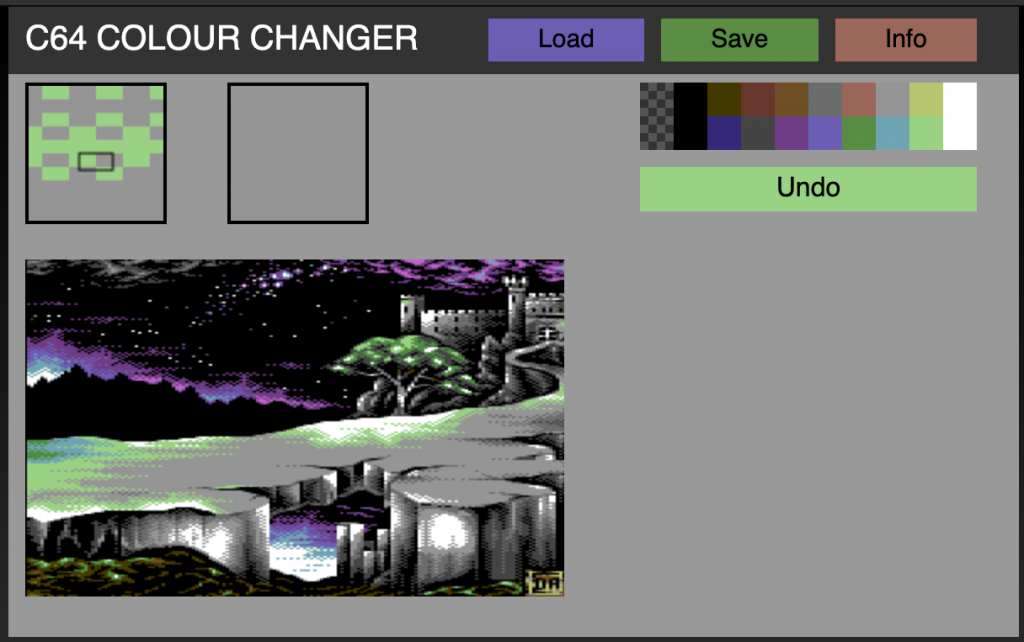 C64 Colour Changer