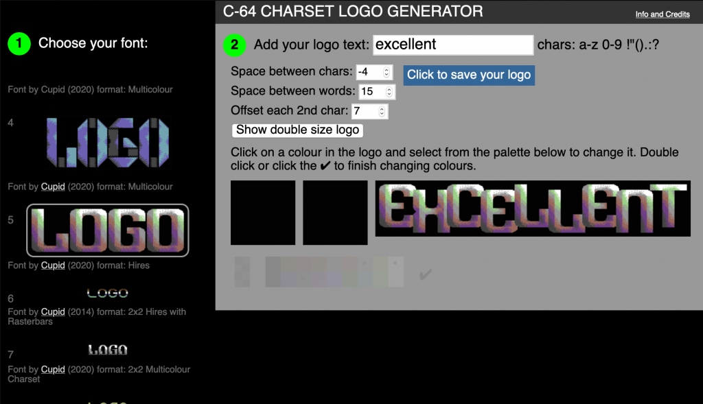 Logo-O-Matic in the browser
