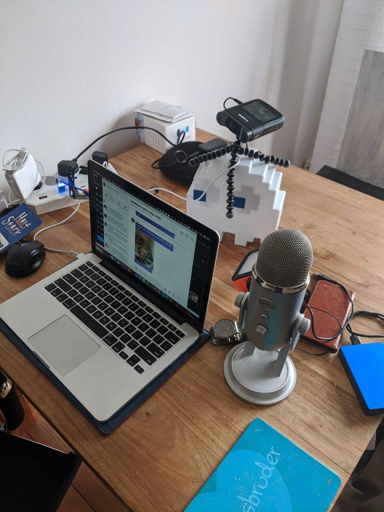 My recording setup - as it were