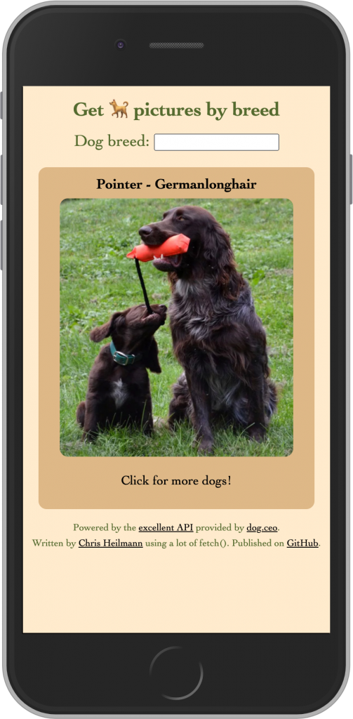 Dog Browser Mobile version