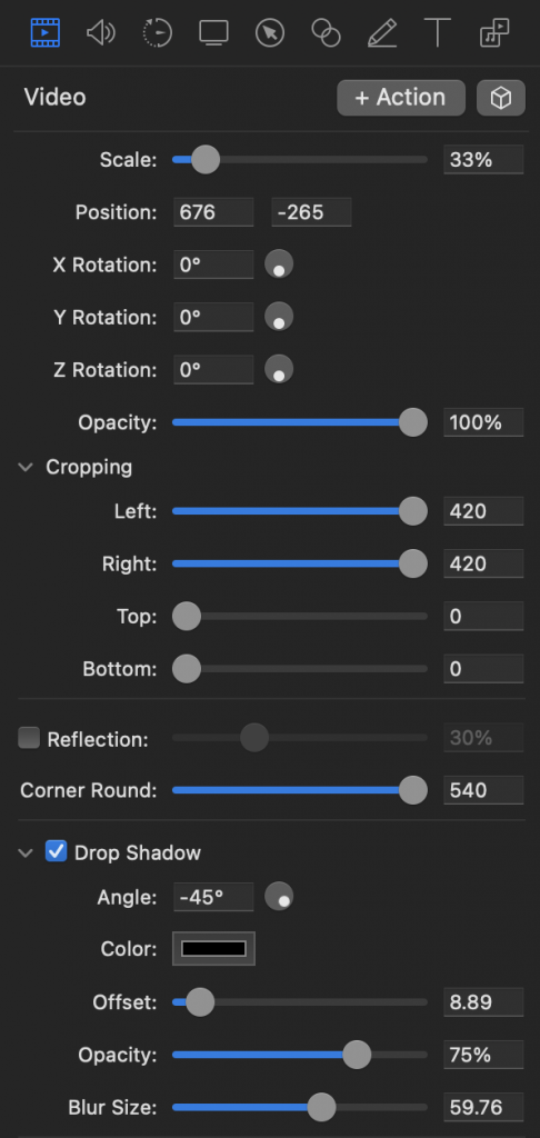 The video settings panel with the right settings